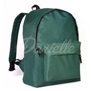 Рюкзак городской для активного отдыха и прогулок. Цвет тёмно-зеленый. фото