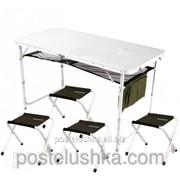 Комплект для пикника и рыбалки стол + 4 стула ST-003 Ranger фото