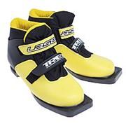 IK50P0216 Лыжные ботинки Laser 75NN цв.желт.белый (Trek) (р.31) фото