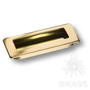 Ручка врезная современная классика, глянцевое золото 3702-100 фото
