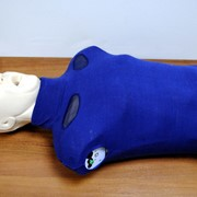 Робот-тренажер сердечно-легочной и мозговой реанимации (торс пружинно-механический без электроники) фото