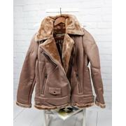 Женская куртка из эко кожи на меху в расцветках. БР-1-0918 фото