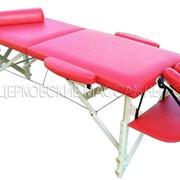 Столы массажные Вариант Б, каркас из дерева фото