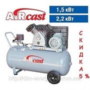 Поршневой компрессор Aircast СБ4/С-100.LВ30 (380В) фото