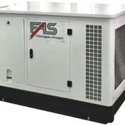 Газовый электрогенератор FAS 19 кВт фото