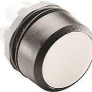 Кнопка MP1-10W белая (только корпус) без подсветки без фиксации фото