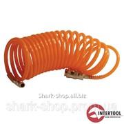 Шланг спиральный с быстроразъемным соединением 15м PT-1702 фото