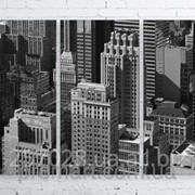 Модульна картина на полотні Нью-Йорк. Манхеттен код КМ100150-105-2 фото
