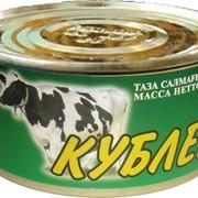 Тушеная консервированная говядина от производттеля. Кублей, ТОО Казахстан фото