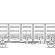 Вагон грузовой фото