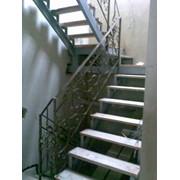 Лестницы, прямые, винтовые, строительные, входные, под заливку фото