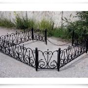 Ограда кованная фото