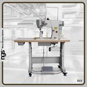 Колонковая 1-игольная швейная машина с компьютером фото