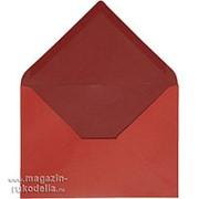 Конвертик, красный/бордо фото