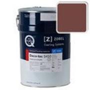 Краска для дерева акриловая ZOBEL Deco-tec 5450C RAL 3009 шелковисто-матовая, 1л фото