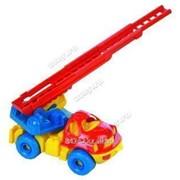 Автотранспортная игрушка Пожарная Малыш Нордпласт фото