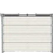 Ворота RYTERNA TL гаражные подъемно-секционные из сэндвич-панелей 5000х2370 фото
