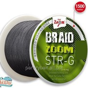 Braid Zoom STR-G brai-ded line, 0,12мм, 130м фото