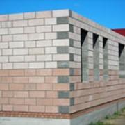 Дом из крупноформатых блоков (теплоблок, теплая керамика, экобетон, газобетон) фото