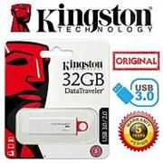 Флэш-карта 32GB KINGSTON G4 Белая с колпачком USB 3.0 фото