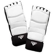 Защита стопы для тхэквондо Adidas WTF Foot Socks белая фото