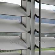 Алюминиевые ставни для окон фото