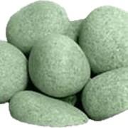 Камень для бани и сауны Жадеит шлифованный фото