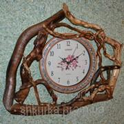 Часы из дерева ЧД 011 фото