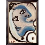Картина Голова женщины, 1939 , Пикассо, Пабло фото