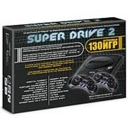 Sega Super Drive 2 Classic (130-in-1) Black фото