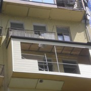 Ремонт, застекление балкона фото