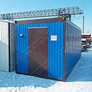 Блок Контейнер 6х2,4х2,5 (ПВХ) фото