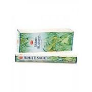 Благовония HEM, шестигранники, White Sage (Белый Шалфей), 20 палочек фото