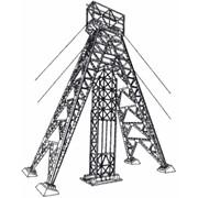 Металлоконструкции надшахтных копров фото