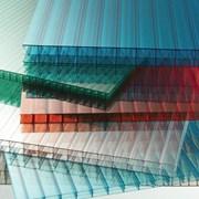 Сотовый поликарбонат от 3 до 10мм , Цветной и прозрачный. Размер 2,1х6м. Арт № 18-01-45 фото