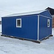 Модульное здание из 2х блоков 6000х4800х3000 фото
