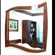 Зеркало M16B Махагон 754 x 25 x 847 фото