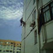 Работы, выполняемые методами промышленного альпинизма фото