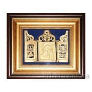 Икона 0102008011 Богоматерь Казанская с миниатюрами фото