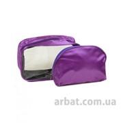 Косметичка текстиль 061 фиолет фото