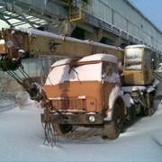 Погрузчик на базе ГАЗ 53 фото