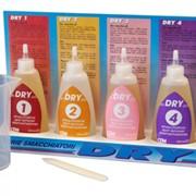 Пятновыводные средства DRY 1, DRY 2, DRY 3, DRY 4, DRY 5 фото