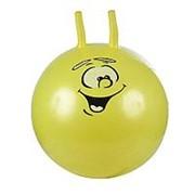 SPRING INTERNATIONAL SPRING Надувной мяч СМАЙЛИК, PVC, 55см, Желтый (35) фото