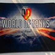 Коврик World of Tanks 22x18 см. фото
