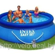 Бассейн надувной Intex 28110 (56970) Easy Set Pool 244*76 см, фото