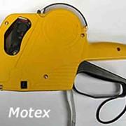 Этикет-пистолет Motex Корея 8-значный фото