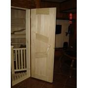 Двери из дерева для бани фото