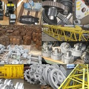 Запчасти к строительным машинам, Запчасти к строительным кранам серии МКГ, СКГ,ДЭК,RDK,КС,КГ фото