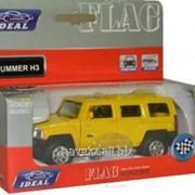 Детская игрушечная модель машинки IDEAL HUMMER H3 1:43 IB-110 фото