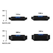 Бак с регулятором(пластиковый,черный) для летнего душа 55, 110, 150, 200 л. фото
